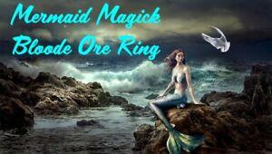 Mermaid Magick Blood Ore Ring Magic Merman Water Ocean Life Love Blessing Totem