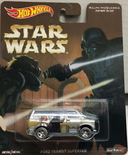 Hot wheels STAR WARS Mint carded Ford transit super van Perfect condition,