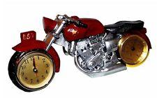 Top Classic Motorrad Biker Chopper Krad Retro Quarzuhr Uhr Kaminuhr Tischuhr Neu