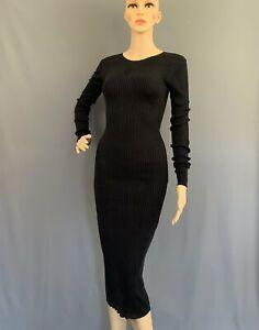 JOSEPH Black 100% Silk Dress Size Small - S - FR 38 - UK 10