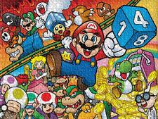 Super Mario Bros Luigi Mushroom Cartoon Game Wall Decor Puzzle Jigsaw 504 Pcs