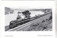 "*Postcard-""The Powhaten Arrow Train""  CLASSIC   *Norfolk & Western Railway (#157"
