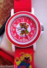 Bijoux Terner, reloj para niño, correa de plástico color rojo