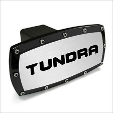 Toyota Tundra 2014 Logo Black Trim Billet Aluminum Tow Hitch Cover