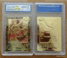 MICHAEL JORDAN  23K GOLD TABLET CARD Signature series  #3