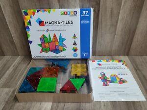 MAGNA-TILES Clear Colors 37pc Set