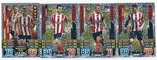 2015 / 2016 EPL Match Attax SOUTHAMPTON Inserts Man of the Match x 3 Duo x 1