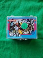 X-MEN CARDS SERIES 1 SET JIM LEE WITH EMPTY BOX, GAMBIT+CABLE HOLOGRAMS