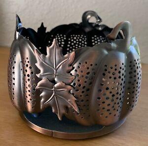 Bath & Body Works PUMPKIN Jar Candle Holder
