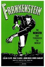 """FRANKENSTEIN"" Movie Poster [Licensed-NEW-USA] 27x40"" Theater Size (1931) Alt 2"