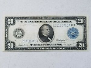 1914 $20 Mid Grade Federal Reserve Note