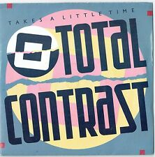 "TOTAL CONTRAST - 7"" - Takes A Little Time.  UK Picture Sleeve.  London"