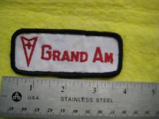 Vintage Pontiac Grand Am Uniform  Patch