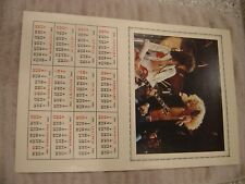 LED ZEPPELIN - 1981 Calendar - 12 x 18 poster NOS New Old Stock Never Used