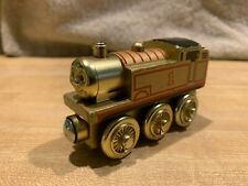 THOMAS THE TRAIN & FRIENDS WOODEN RAILWAY LIMITED 60 YEAR EDITION GOLD DIESEL