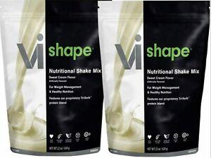 VISALUS Vi Shape Nutritional Shake Mix -Low Fat Protien 22oz EXP:11/2022(2-BAG)