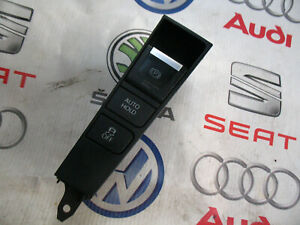 VW PASSAT B7 CENTER CONSOLE PARKING BRAKE SWITCH AUTO HOLD BUTTON 3AC927238   /3