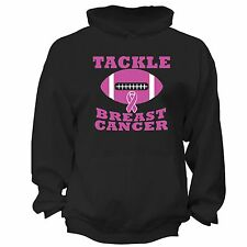 Tackle Breast Cancer Awareness PINK Ribbon Survivor supporter Hoodie S-6X