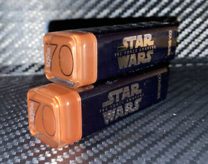 Lot of 2 CoverGirl Star Wars Limited Edition Lipstick #70 NUDE. New & sealed.