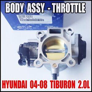 Hyundai 2004-2008 Tiburon 2.0L  Body Assy-Throttle Engine Room  OEM 35100-23701