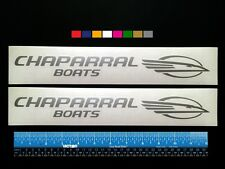 Winner 2 color boat decals 10x84.5 Ranger Malibu Chaparral Wellcraft Grady White