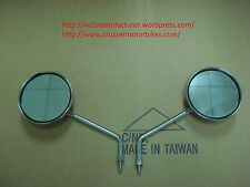 Mirrors set fits the Cruzzer whizzer motorbikes and motorized bicycles scooters