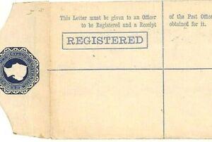 CYPRUS QV Registered Stationery Envelope Unused 1880s {samwells-covers}W228