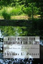 Weekly Messages from Singanewpsalm. com 2012-2014 : A Small Voice in the...