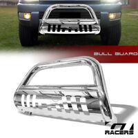 For 2003-2009 Toyota 4Runner Stainless Chrome Bull Bar Brush Push Bumper Guard