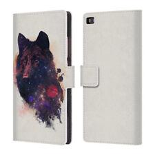 Cover e custodie universali modello Per Huawei P8 lite per cellulari e palmari pelle