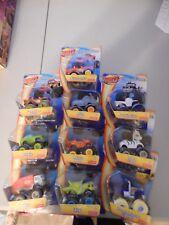 NEW Fisher Price Blaze and The Monster Machines Lot of 10 Trucks HTF