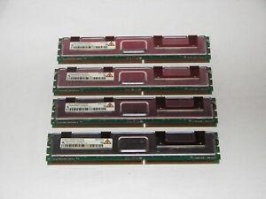 INFINEON HYS72T128420HFA-3S-B 1GB 2RX8 PC2-5300F ECC MODULE LOT OF 4 4GB TOTAL