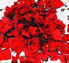 Confettis Biodégradables Naturelle Pétales de Rose Rouge & Noir 1L