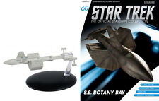 #60 Star Trek Botany Bay Die Cast Metal Ship-UK/Eaglemoss w Mag-FREE S&H