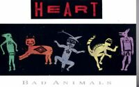 Heart Bad Animals 1987 Hard Classic Rock Roll Cassette Tape Pop