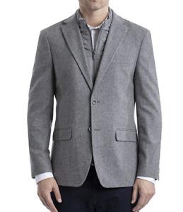 Tommy Hilfiger Men's $275 Heritage Blazer Medium Gray Size 46R