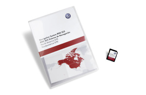2015 Volkswagen Eos Lux GPS Navigation SD Card Map Update
