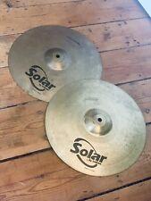 "More details for solar 14"" hi hat cymbals"