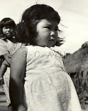 WWII Occupation of Japan- US Army Photo- Young Japanese Youth- Girl
