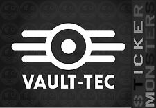 Fallout Vault Guy Tec Sticker Large 160mmW Gaming PS4 X1 Car Van Laptop Xbox.