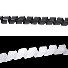 Kabelspirale Spiralband Kabelschlauch 10 Meter transparent 12mm Durchmesser