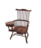 Dolls House Comb Back Walnut Windsor Chair JBM Miniature Furniture