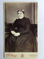 Victorian Carte De Visite CDV Photo - H Davey - Exeter - Lady - c1880s