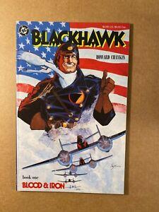 Blackhawk #1 Blood & Iron Howard Chaykin Story & Art Prestige Format DC!