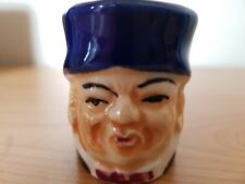 VINTAGE SMALL FOREIGN CERAMIC TOBY / CHARACTER