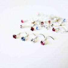 Rhinestone Stud Nose Piercing Jewellery