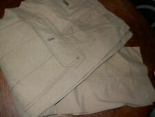 WearFirst Men's Pants Khaki Size 38 X 30, Cargo Pre Owned, Good Condition