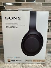 Sony Wh-1000Xm3 Wireless Noise-Canceling Over-Ear Headphones Black (No Case)