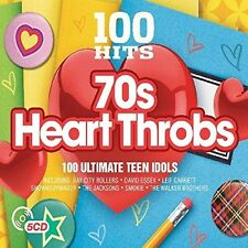 Various Artists - 100 Hits: 70s Heartthrobs / Various [New CD] UK - Import