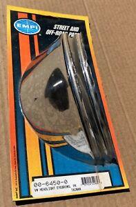 """PORSCHE 356 & VW BUG NOS EMPI HEADLIGHT """"EYEBROWS"""" NEW OLD STOCK"""